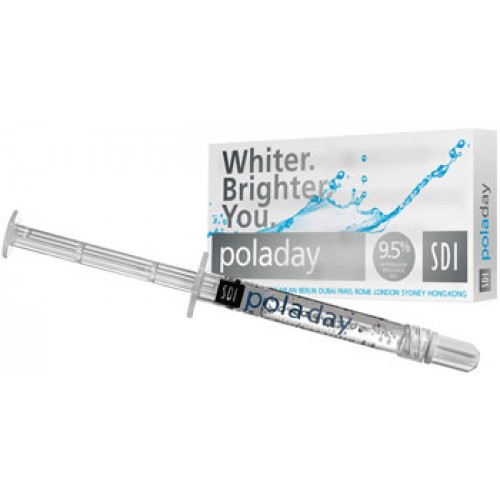Poladay 9.5% Hydrogen Peroxide - 4 Syringe Pack